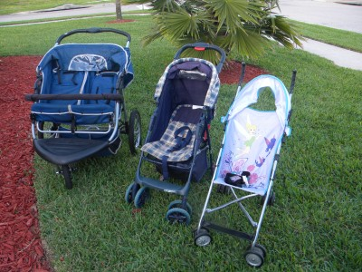 Multi choice of strollers
