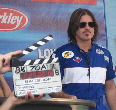 Billy Ray Take 2 Filming The Bait Shop